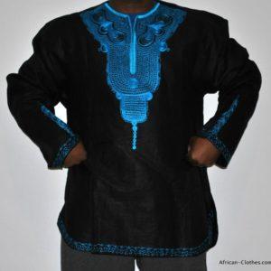 african men's shirt