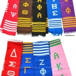 sorority and fraternity stoles