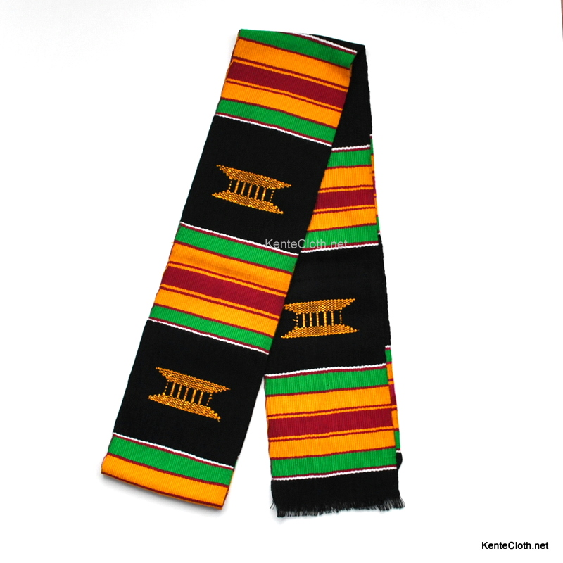 African graduation kente stoles
